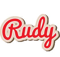 Rudy chocolate logo