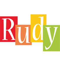 Rudy colors logo