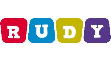 Rudy daycare logo
