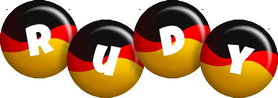 Rudy german logo