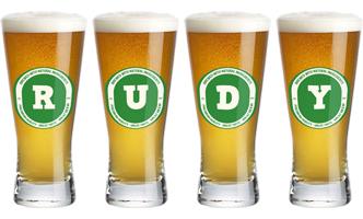 Rudy lager logo