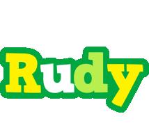 Rudy soccer logo