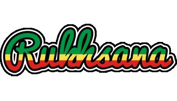 Rukhsana african logo