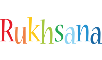Rukhsana birthday logo