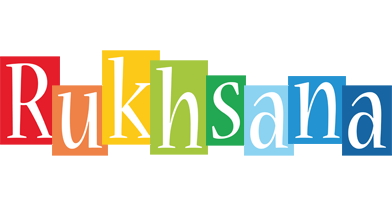 Rukhsana colors logo
