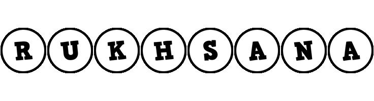 Rukhsana handy logo