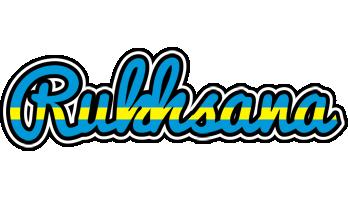 Rukhsana sweden logo