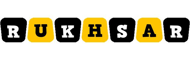 Rukhsar boots logo