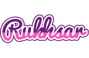 Rukhsar cheerful logo