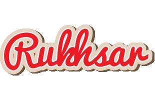 Rukhsar chocolate logo