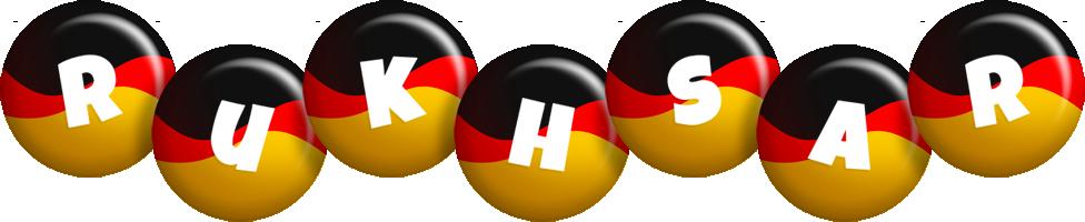 Rukhsar german logo
