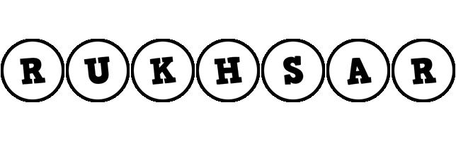 Rukhsar handy logo