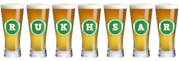 Rukhsar lager logo