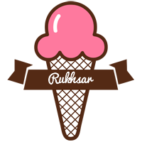 Rukhsar premium logo