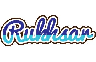 Rukhsar raining logo