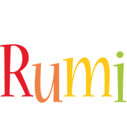 Rumi birthday logo