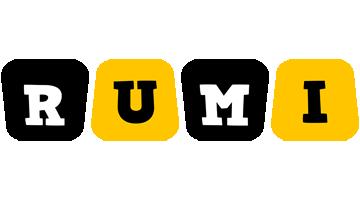 Rumi boots logo