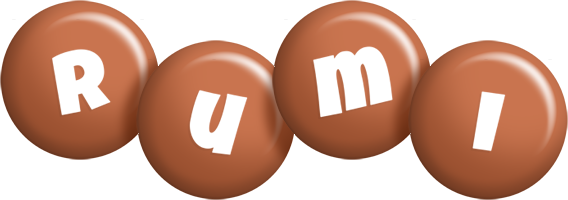 Rumi candy-brown logo