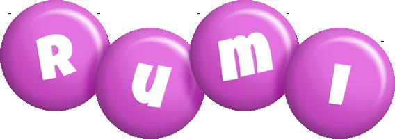 Rumi candy-purple logo