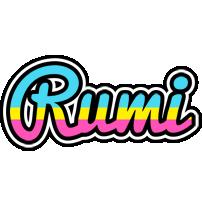 Rumi circus logo