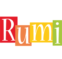 Rumi colors logo