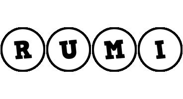 Rumi handy logo