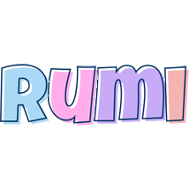 Rumi pastel logo