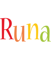 Runa birthday logo