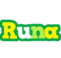 Runa soccer logo