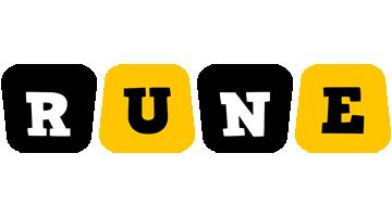 Rune boots logo