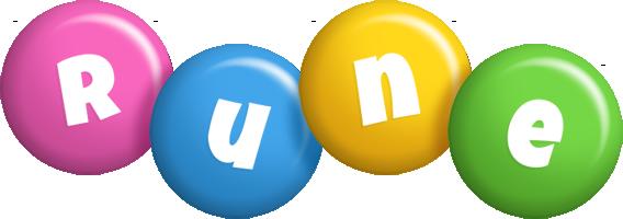 Rune candy logo