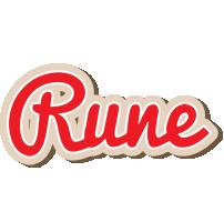 Rune chocolate logo