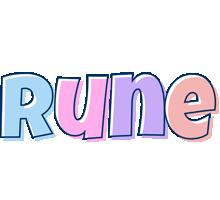 Rune pastel logo