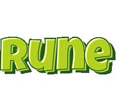 Rune summer logo