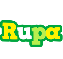 Rupa soccer logo