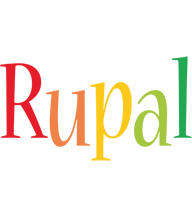Rupal birthday logo