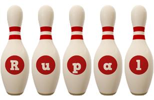 Rupal bowling-pin logo