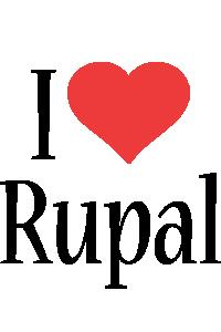 Rupal i-love logo
