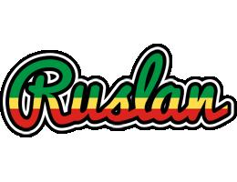Ruslan african logo