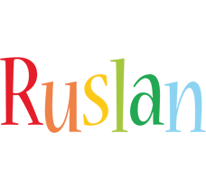 Ruslan birthday logo
