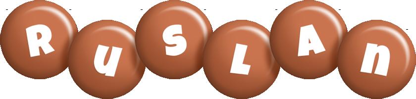 Ruslan candy-brown logo