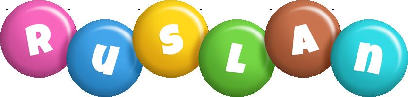 Ruslan candy logo