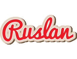 Ruslan chocolate logo