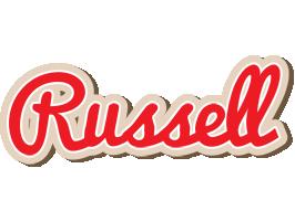 Russell chocolate logo