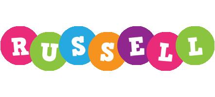 Russell friends logo