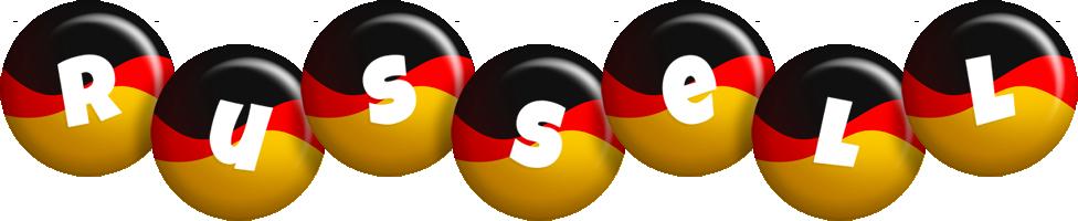 Russell german logo