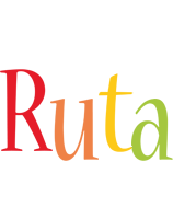 Ruta birthday logo