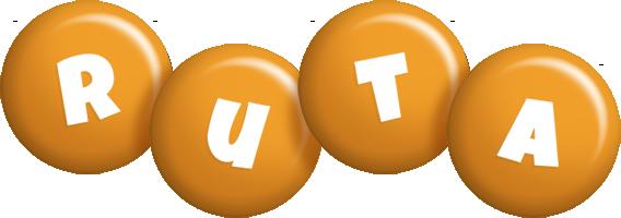 Ruta candy-orange logo