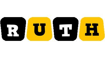 Ruth boots logo