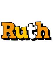 Ruth cartoon logo